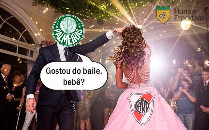 Semifinal (ida - 05/01/2021) - River Plate 0 x 3 Palmeiras