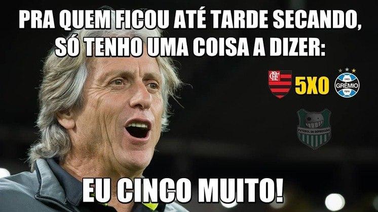 Semifinal (volta - 23/10/19) - Flamengo 5 x 0 Grêmio