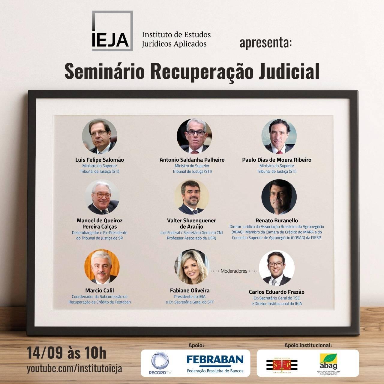 Seminário de recuperação judicial
