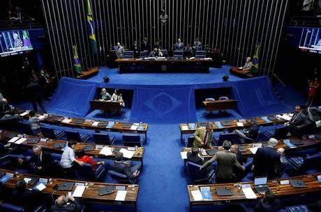 O plenário do Senado Federal, que terá renovação de dois terços
