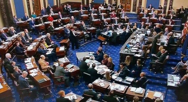 Senado dos EUA entrou em nova fase do julgamento do impeachment de Trump