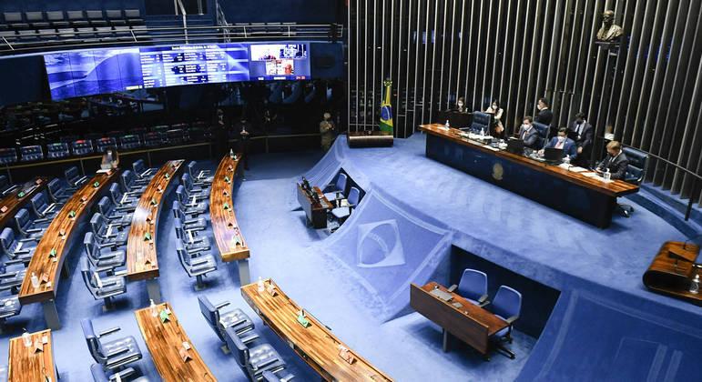 Sessão do Senado Federal desta quinta-feira (2)