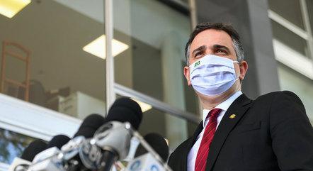 Na imagem, presidente Rodrigo Pacheco (DEM-MG)