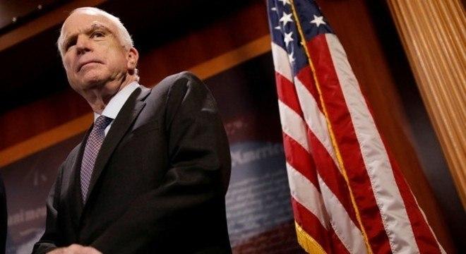 John McCain disputou a presidência dos EUA em 2008 e perdeu para Obama