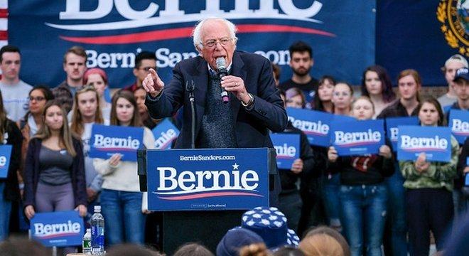 Sanders conseguiu apertada vitória na primária democrata de New Hampshire
