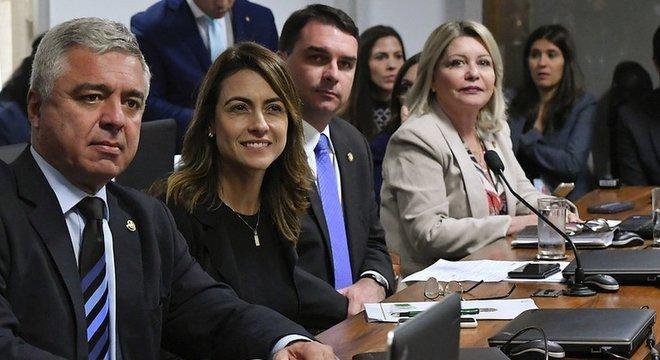 Grupo de senadores defendeu o ministro da Justiça