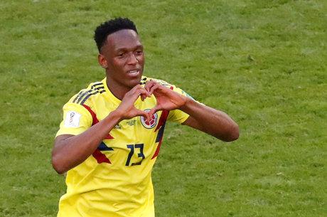 Mina marcou o gol da vitória colombiana