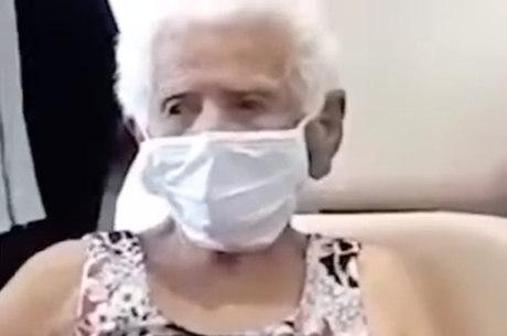 Senhora de 101 anos é curada da covid-19