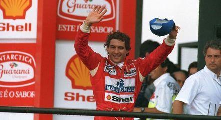Senna foi tricampeão mundial