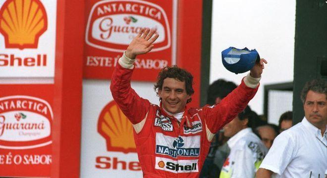 Ayrton Senna foi tricampeão de F1
