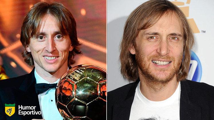 Separados na maternidade: Modric e David Guetta