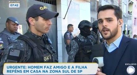 Entrevista, ao vivo, com capitão que liderou as negociações com o sequestrador
