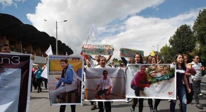 Sequestro de repórteres gerou comoção no Equador