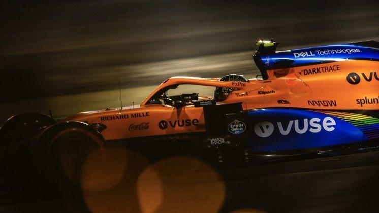 Será a chance de Norris passar Sainz no campeonato?