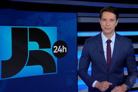 Sergio Aguiar é um dos apresentadores do JR