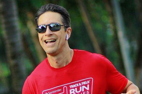 Sérgio corre de 10 a 12 quilômetros, três vezes por semana