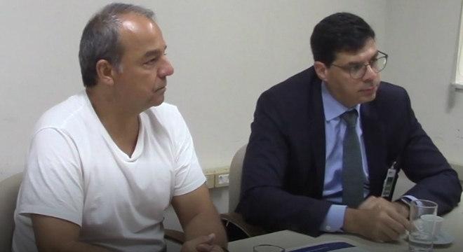 O ex-governador do Rio de Janeiro Sérgio Cabral, durante depoimento ao MPF