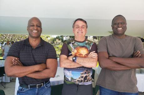 Sergio Camargo, Bolsonaro e o deputado Hélio Negão