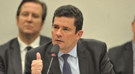 Na imagem, ex-juiz da Lava Jato Sergio Moro