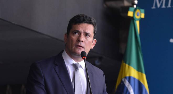 O ex-ministro da Justiça, Sergio Moro