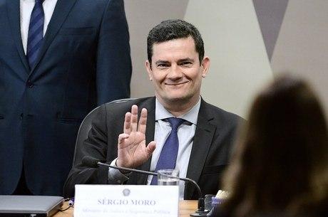 Moro participou de audiência na CCJ do Senado