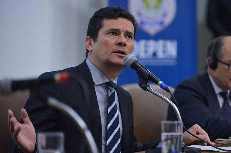 O ministro da Justiça e Segurança, Sergio Moro