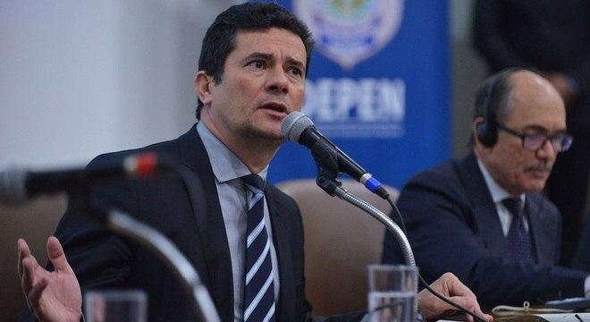 Ministro Sérgio Moro comentou sobre supostos hackers presos