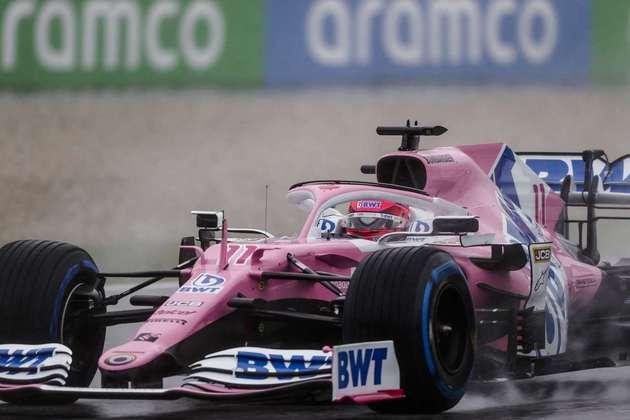 Sergio Pérez acabou eliminado ainda na primeira fase da classificação da Fórmula 1