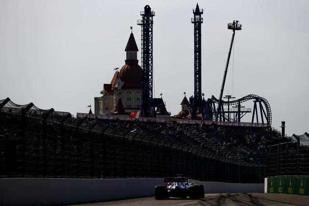 Sergio Pérez andou bem e colocou a Racing Point na sexta posição