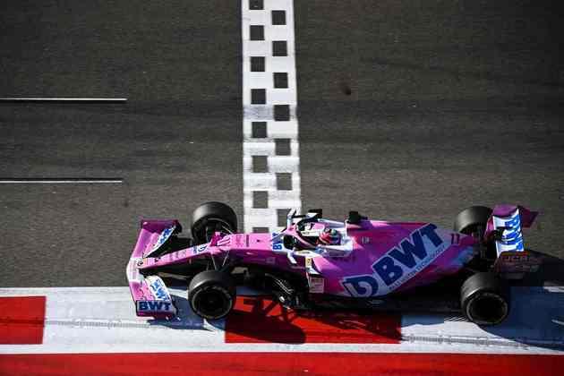 Sergio Pérez andou muito bem em Sóchi e ficou na quarta posição