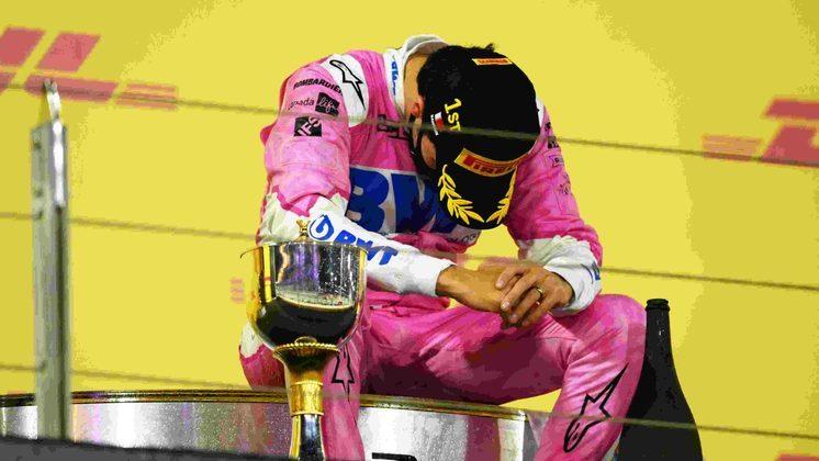 Sergio Pérez disputou 190 corridas para vencer o GP de Sakhir de 2020