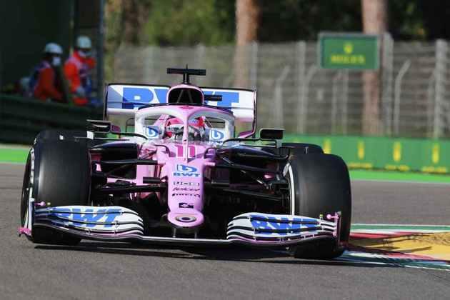 Sergio Pérez ficou chateado na classificação: não avançou par o Q3