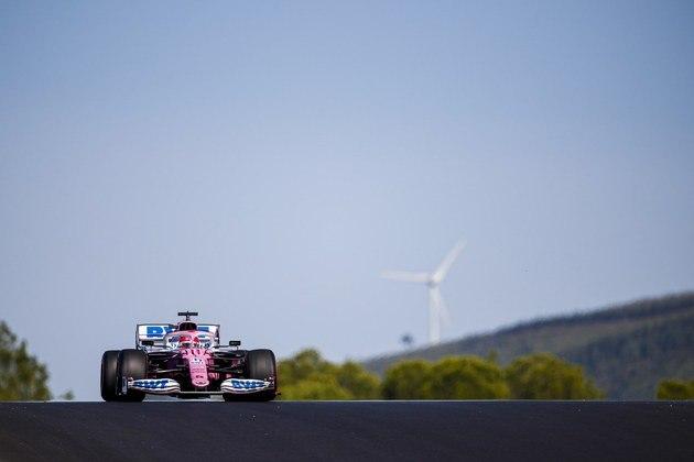 Sergio Pérez ficou com o quinto lugar no grid em Portimão e espera pontuar bem novamente