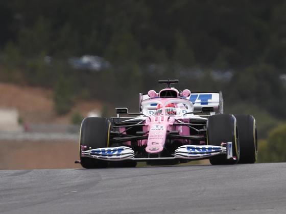 Sergio Pérez, mais uma vez, liderou a Racing Point e vai largar em quinto com o tempo de 1min17s223