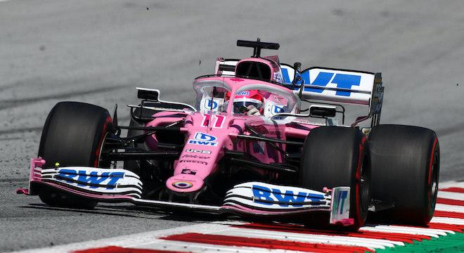 Sergio Pérez ocupa a sexta colocação na classificação geral, com 22 pontos