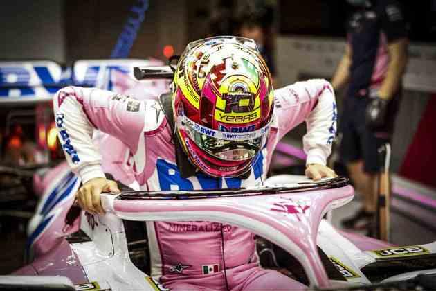 Sergio Pérez se despede da Racing Point neste domingo.