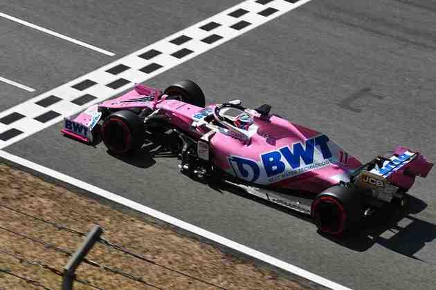 Sergio Pérez voltou ao grid da Fórmula 1 com tudo e larga em quarto