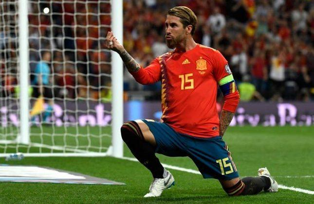 Sergio Ramos (Espanha) - se recuperou de lesão recentemente. Fora por opção do treinador