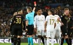 Sergio Ramos, expulso, Real Madrid, Manchester City
