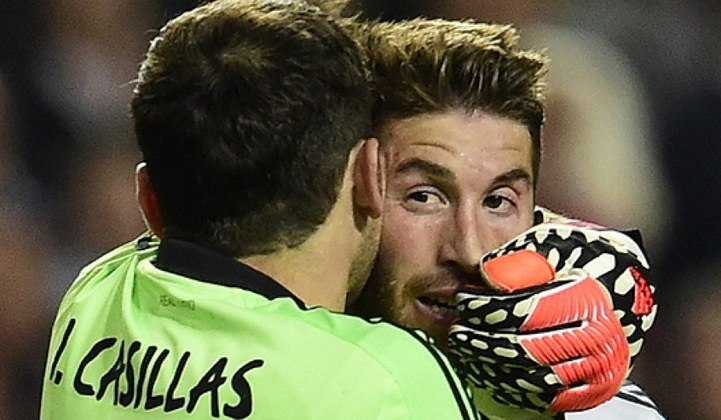 Sergio Ramos - Outro companheiro de Real Madrid e de seleção espanhola que brilhou ao lado de Casillas foi o xerife Sergio Ramos: 477 jogos.