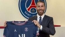 Sergio Ramos é oficialmente anunciado como reforço do PSG