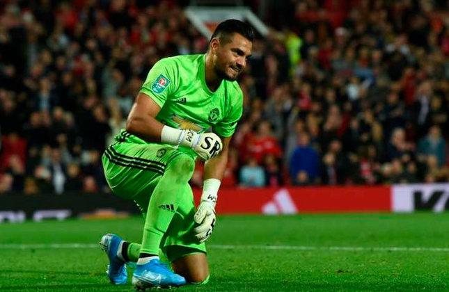 Sergio Romero (Argentina) - 34 anos - Goleiro - Valor de mercado: 1 milhão de euros - Sem time desde: 01/07/2021 - Último clube: Manchester United