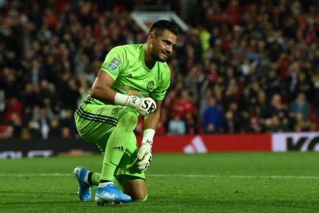 Sergio Romero: goleiro - 34 anos - argentino - Fim de contrato com o Manchester United - Valor de mercado: 1 milhão de euros