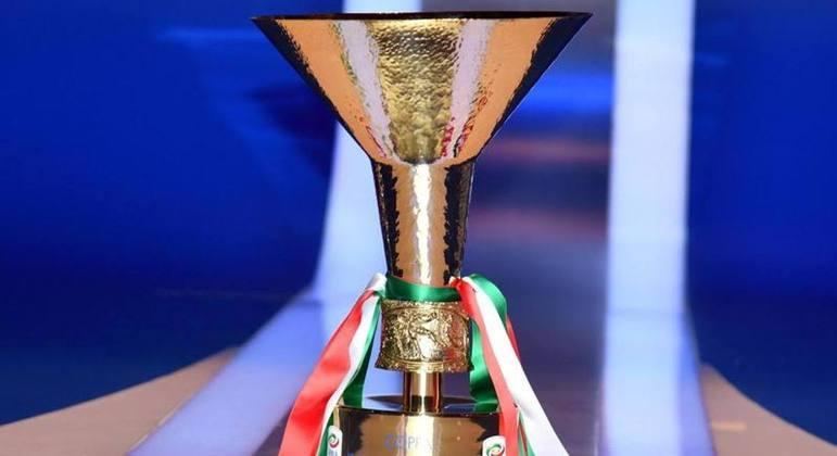 A taça de Campeão da Itália
