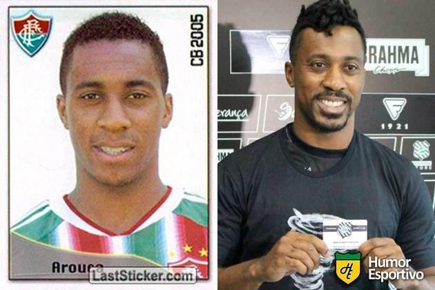SÉRIE B: Arouca jogou pelo Fluminense em 2005. Inicia o Brasileirão 2020 com 33 anos e jogando pelo Figueirense