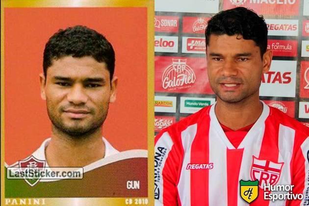 Série B - Gum jogou pelo Fluminense em 2010. Inicia o Brasileirão 2021 com 35 anos e jogando pelo CRB.
