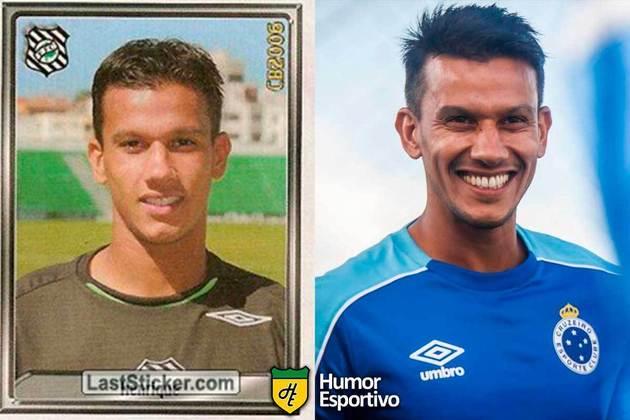 SÉRIE B: Henrique jogou pelo Figueirense em 2006. Inicia o Brasileirão 2020 com 35 anos e jogando pelo Cruzeiro