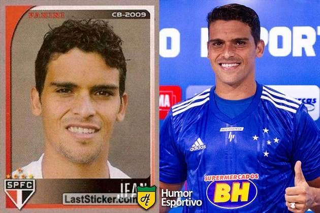 SÉRIE B: Jean jogou pelo São Paulo em 2009. Inicia o Brasileirão 2020 com 34 anos e jogando pelo Cruzeiro