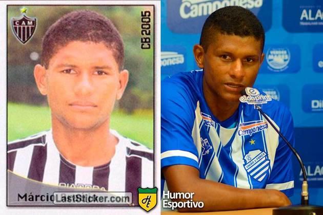 SÉRIE B: Márcio Araújo jogou pelo Atlético-MG em 2005. Inicia o Brasileirão 2020 com 36 anos e jogando pelo CSA