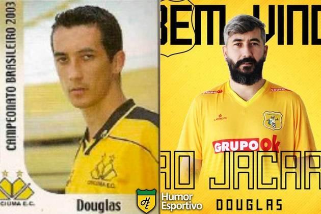 SÉRIE D: Douglas jogou pelo Criciúma em 2003. Iniciará o Brasileirão 2020 com 38 anos e jogando pelo Brasiliense